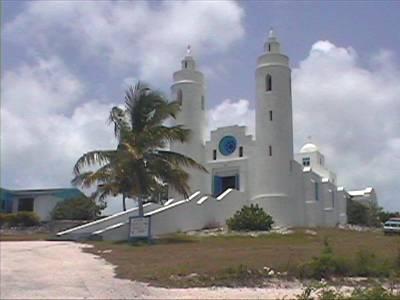 Church scenes, Long Island, Bahamas Out Islands